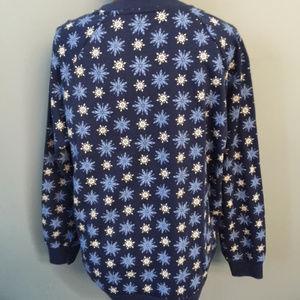 Disney Tops - Disney Fozen Olaf Holiday Sweatshirt